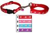 Custom Polyester Radiant Print Dog Collar and Leash wholesale