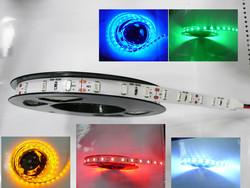 White pcb flexible dc12v 300leds/roll blue green red 5630/5730 led strip light