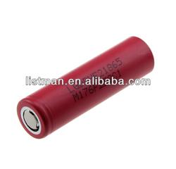 LG HE21865 18650 2500mah 3.7v 35A red lg 18650 2500mah battery
