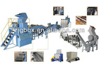 waste plastic recycling plant for PE/PP film and woven bags