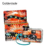 35mm Film Waterproof Camera Disposable Pre-load 36exp Fuji Color Film With OEM Color Box Design