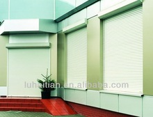 noiseless exterior safety automatic aluminum roller shutter