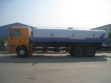 Shacman 6x4 water sprinkler truck sold in angola