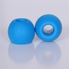 Round shape high-tech foam ear tips for headphone with good price