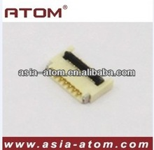 FPC connector, 0.3mm 4-100pin back flip height 1.0mm