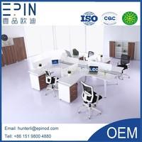 Epin Hotsale Modern office work station for 4 people