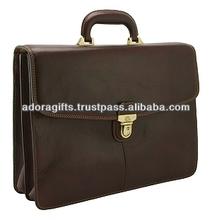 laptop bag handmade leather / leather latest laptop computer bag / computer briefcase laptop bags 14 inch