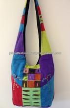 canvas shoulder hippie bags 2014 fashion canvas women bags stone washed classic shoulder bag