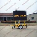 solare rimorchio mobili led segno