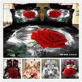 Qualidade de bazar( 6pcs/set) da folha de cama( de borracha ao redor) conjunto de roupa de
