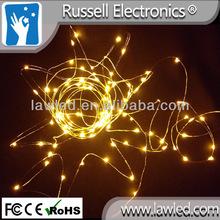 copper string lights Christmas 12 volt led string lights