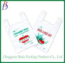 plastic bags Vest carrier