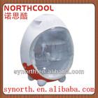 20L Transparent door Egg shape Mini Fridge Mini Cooler