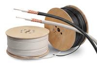 3c-2v coaxial cable +tv connectors