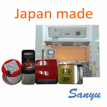 High speed and Durable automatic press for 18L can with original functions made in Japan