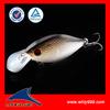 Floating crank bait long casting fishing lure