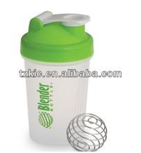 plastic shaker bottle for blender protein 12oz