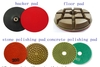 4 inch diamond polishing pads for granite marble concrete