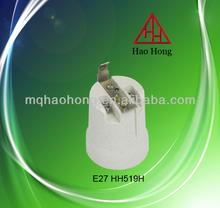 HAOHONG cermaic electronics e27 lampholder / e27 bulb holder supplier