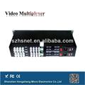 16 canali in fibra ottica trasmettitore video senza fili a lungo raggio
