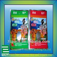 thermal wine cooler carrier bag& plastic cloth packing bag