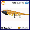 tri-axle skeleton 20ft 40ft container chassis