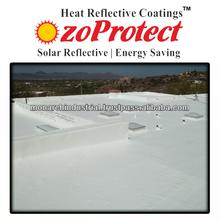 Aluminium roof coatings
