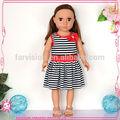 Jouets poupée de vinyle de haute qualité, jouet poupée de mode avec des cheveux curl