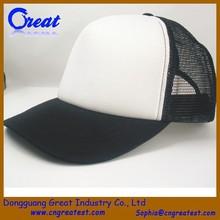 2014 New Fahsion Custom-made Mesh Curved Bill Trucker Hat Snapback Cap