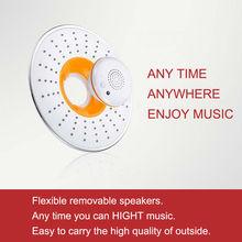 Wireless Bluetooth led music shower head