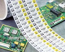 electronic shelf label sticker with heat-resistance