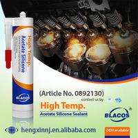 Heat Resistance (250C Long Term)100% High Temperature Silicone Caulk