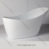Solid Surface stone freestanding bathtub/ dog bath tub