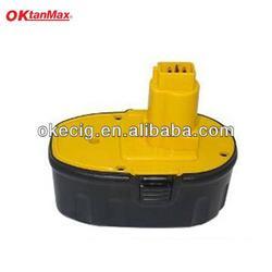 rechargeable battery for cordless hammer drill, power tool battery for Dewalt 18V DC9096 DE9039 DE9095
