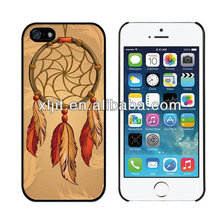 Fashion Gold Wheat Printed Attractive Hard Back Case Cover Shell for iPhone 5 5S