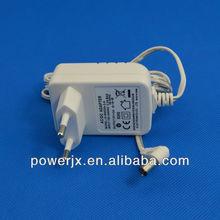 ISO standard 5v 1500mA wall mounted multiple plug adapter