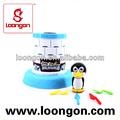 intelectual loongon pingüino de salvación del juego para los juguetes del niño