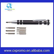 Aluminum Multi-function Pocket Tool Pen/Buy High Quality Tech Tool Pen/Sales hand tool pen