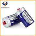 De everbright 1.5v d tamaño de pilas y baterías de alarma o se utilizan en alta corriente de fuga de aplicaciones