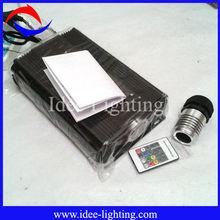 2014 new high power 75W LED fiber optic light engine with 20key RF remote control