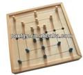 خشبية السفر لعبة الشطرنج الصينية/ رقعة الشطرنج خشبية/ تعيين لعبة الشطرنج