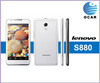 5.0 inch IPS screen Lenovo S880 MTK6577 Dual core Cortex A9 1.0GHz 2250mAh Battery 4GB ROM Smartphone