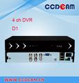 H. 264 cctv 4ch dvr cms de software libre