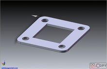 Precision manual metal stamping