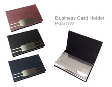 Personalize smart design PU leather card holde, gift card wallet, bussiness card holder