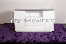 high gloss buffet design