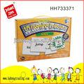 Nuevo 2014 inglés juguetes de aprendizaje 3d puzzles/rompecabezas/3d puzzles/rompecabezas educativos