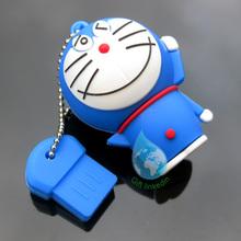 Fashion 3D cartoon PVC USB driver keychain/2014 hot selling pvc usb flash drive