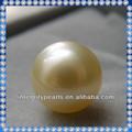 12 mm AAA mar del sur de oro de la perla