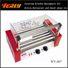 CE certificated commercial 7 rollers Hot dog machine and cover